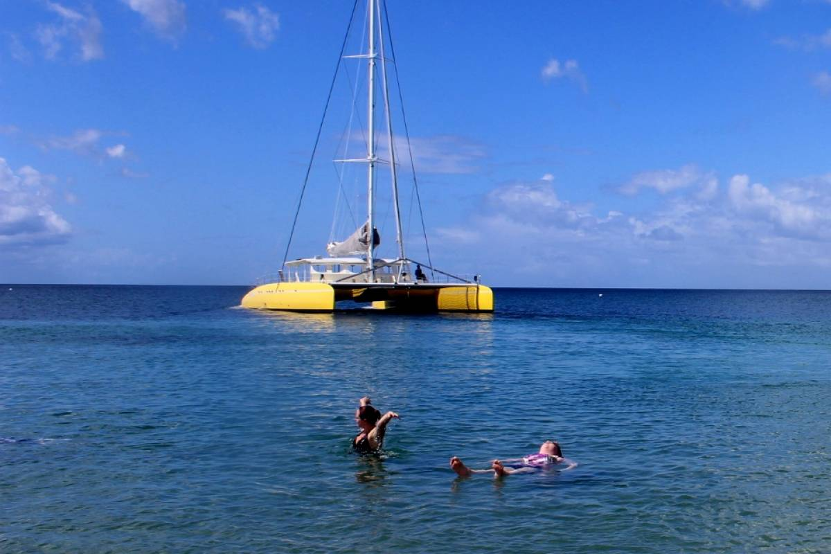 Blue Water Safaris Afternoon Nevis Beach Break