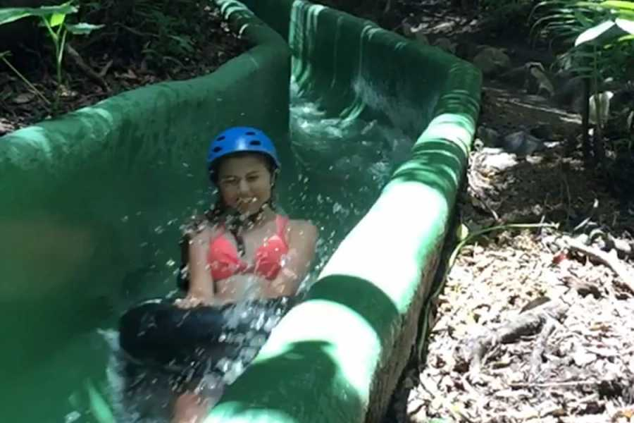 Kelly's Costa Rica Waterfall Waterslide Combo Tour
