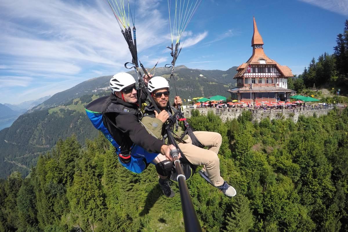 Paragliding Interlaken GmbH Heidis Flug