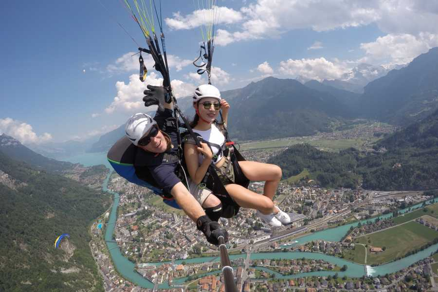 Paragliding Interlaken GmbH Heidi's Flight 하이디의 비행