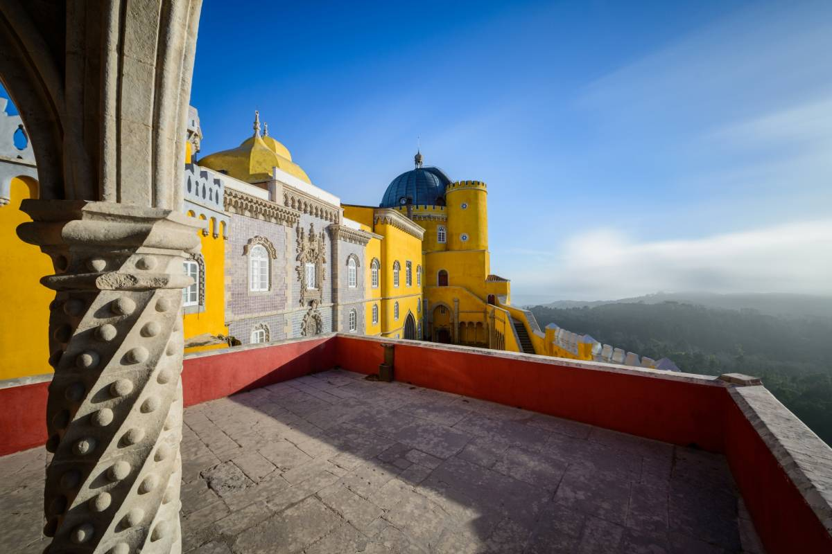 Lisbon On Wheels Half day tour to Sintra with tickets to pena Palace and Regaleira