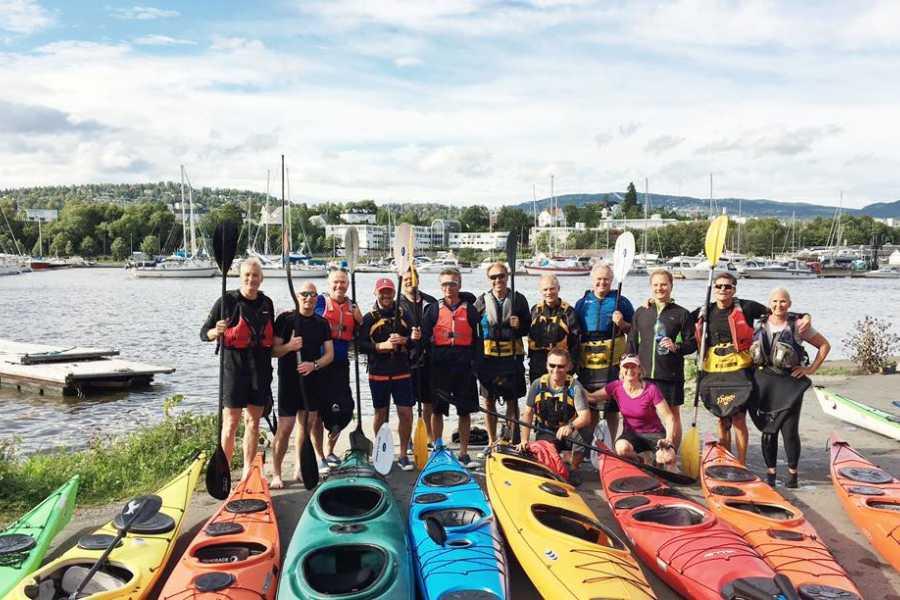 Viking Biking Kayak Tour: 3 Hours on The Oslo Fjord