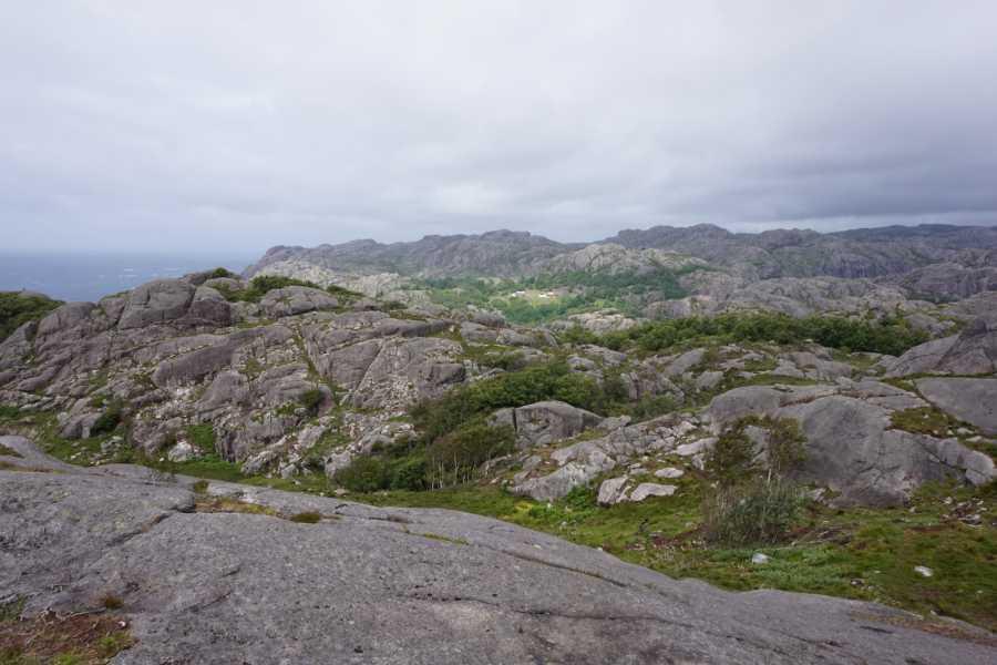Magma Geopark Brufjell, Flekkefjord