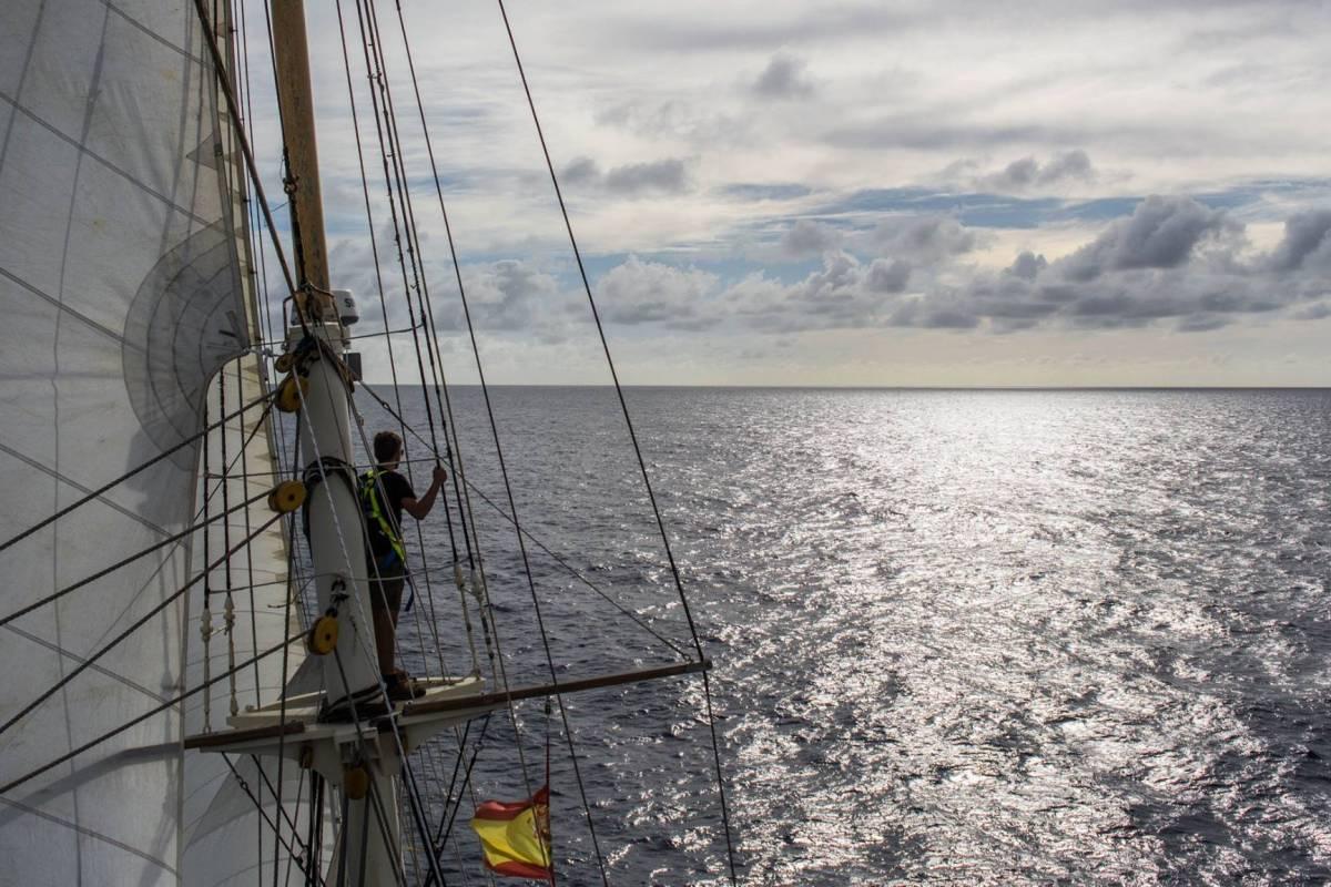 Maybe Sailing An Atlantic Christmas