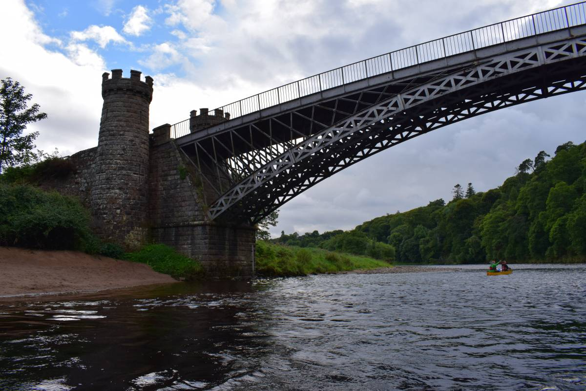 Way2go Adventures River Spey 5 Day Canoeing Expedition - 10th-14th September 2018
