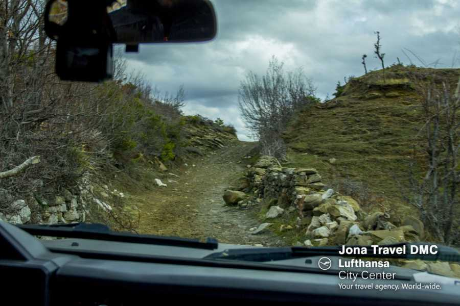 JONA TRAVEL DMC - LUFTHANSA CITY CENTER Adventure spirit - 4x4 from Tirana to Kruja and Lac
