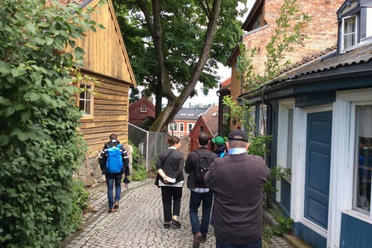 viking biking Gourmet Oslo: Food & Walking Tour Every Thursday