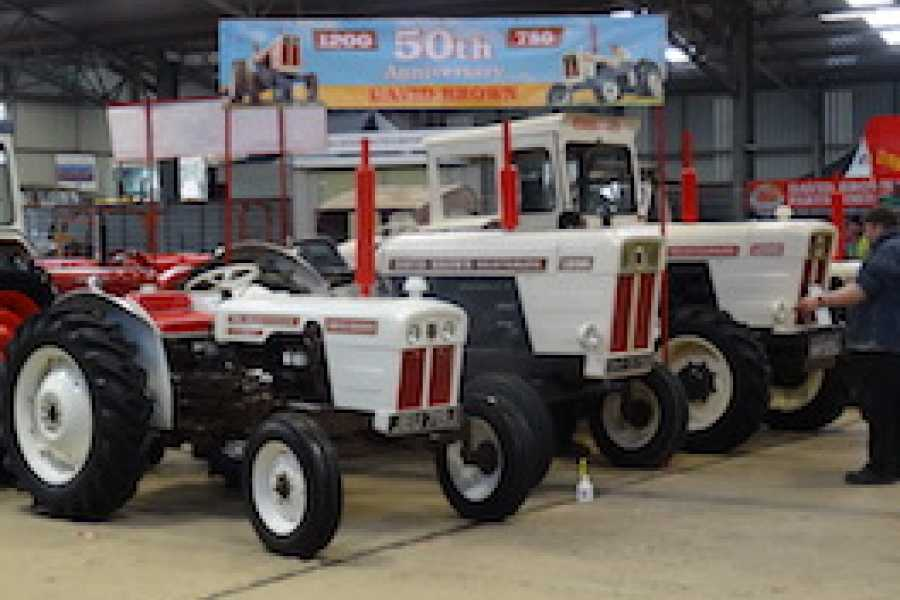 Oates Travel St Ives 2019 Tractor World @ Malvern Showground