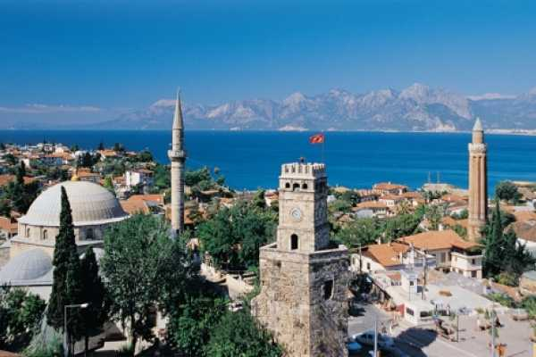 // Antalya City From Alanya