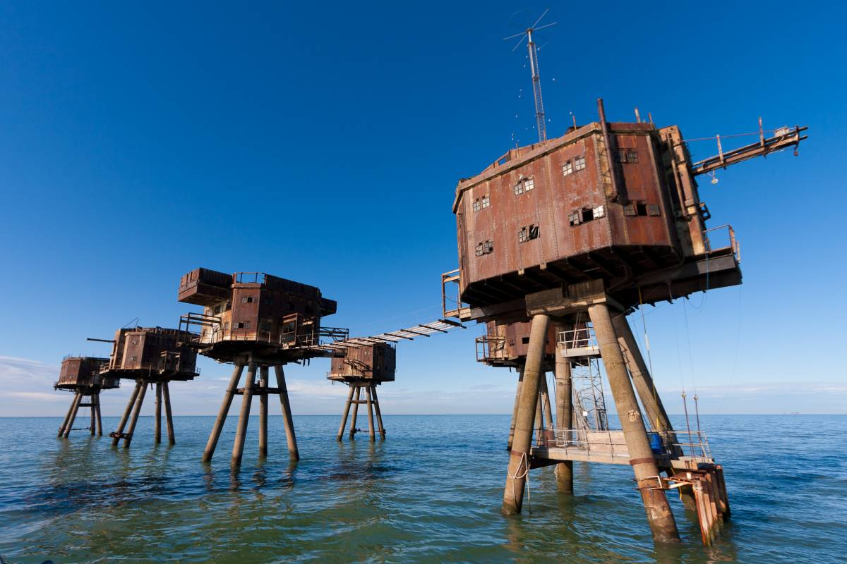 Explorabilia Red Sands : The Maunsell Forts and Dunkirk Experience