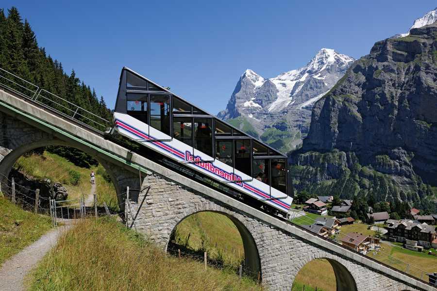 Schilthorn Cableway Ltd. Stechelberg - Allmendhubel, retour
