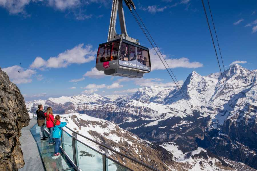 Schilthorn Cableway Ltd. Stechelberg - Schilthorn incl. James Bond Brunch
