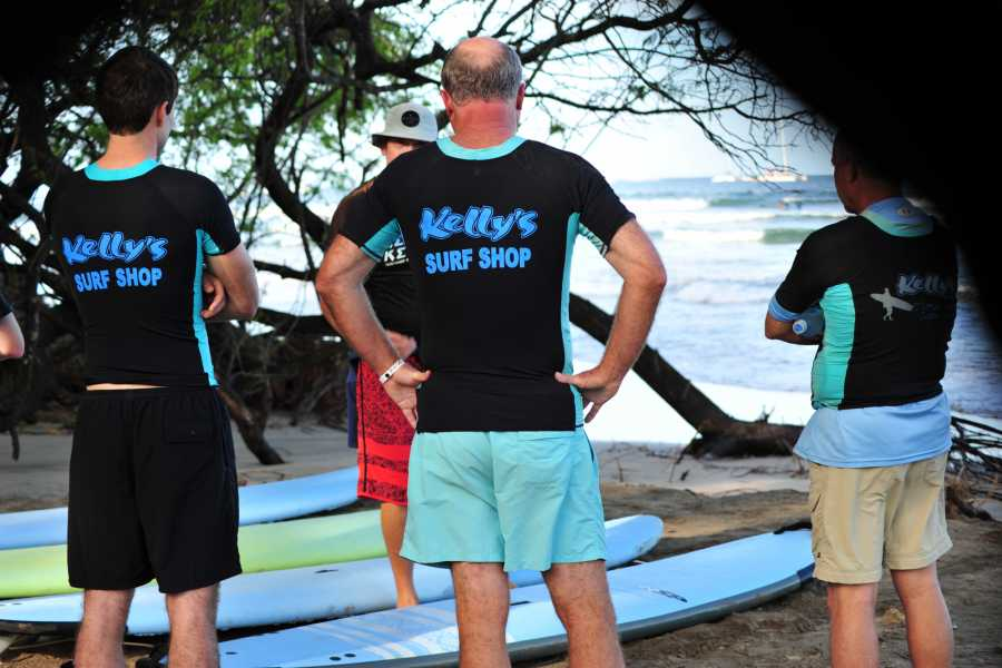 Kelly's Costa Rica An Open Group Surf Lesson