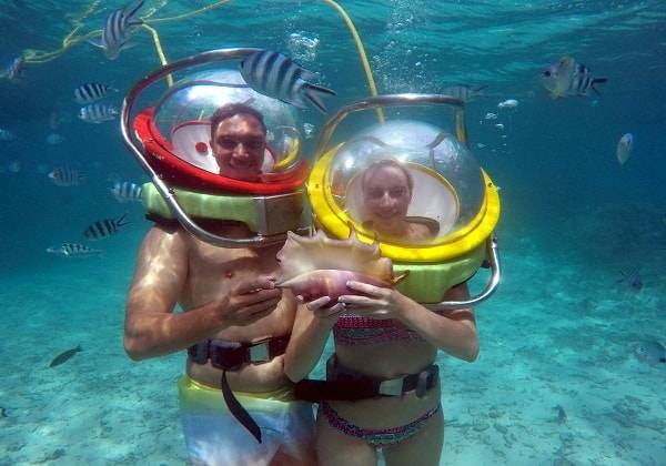 20 mins Undersea Walk, 20 mins Undersea Walk, 20 mins Undersea Walk