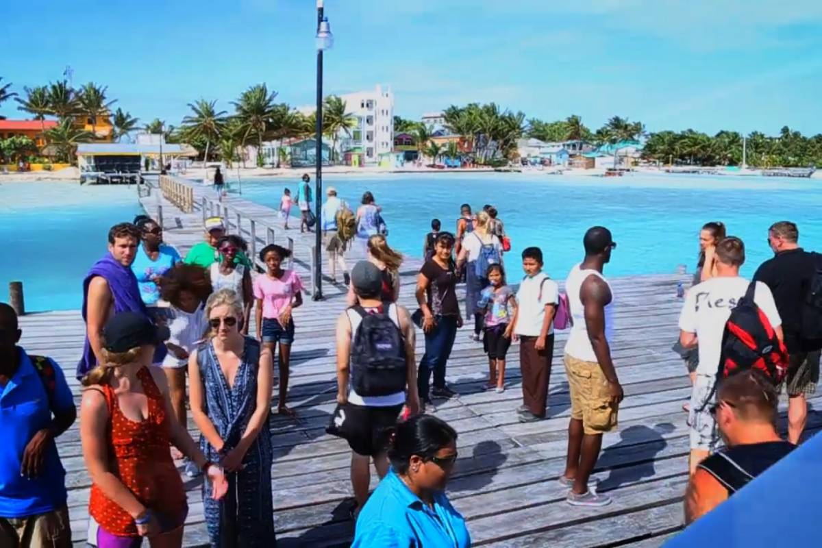 Ocean Ferry Belize Caye Caulker to Belize City - Round Trip