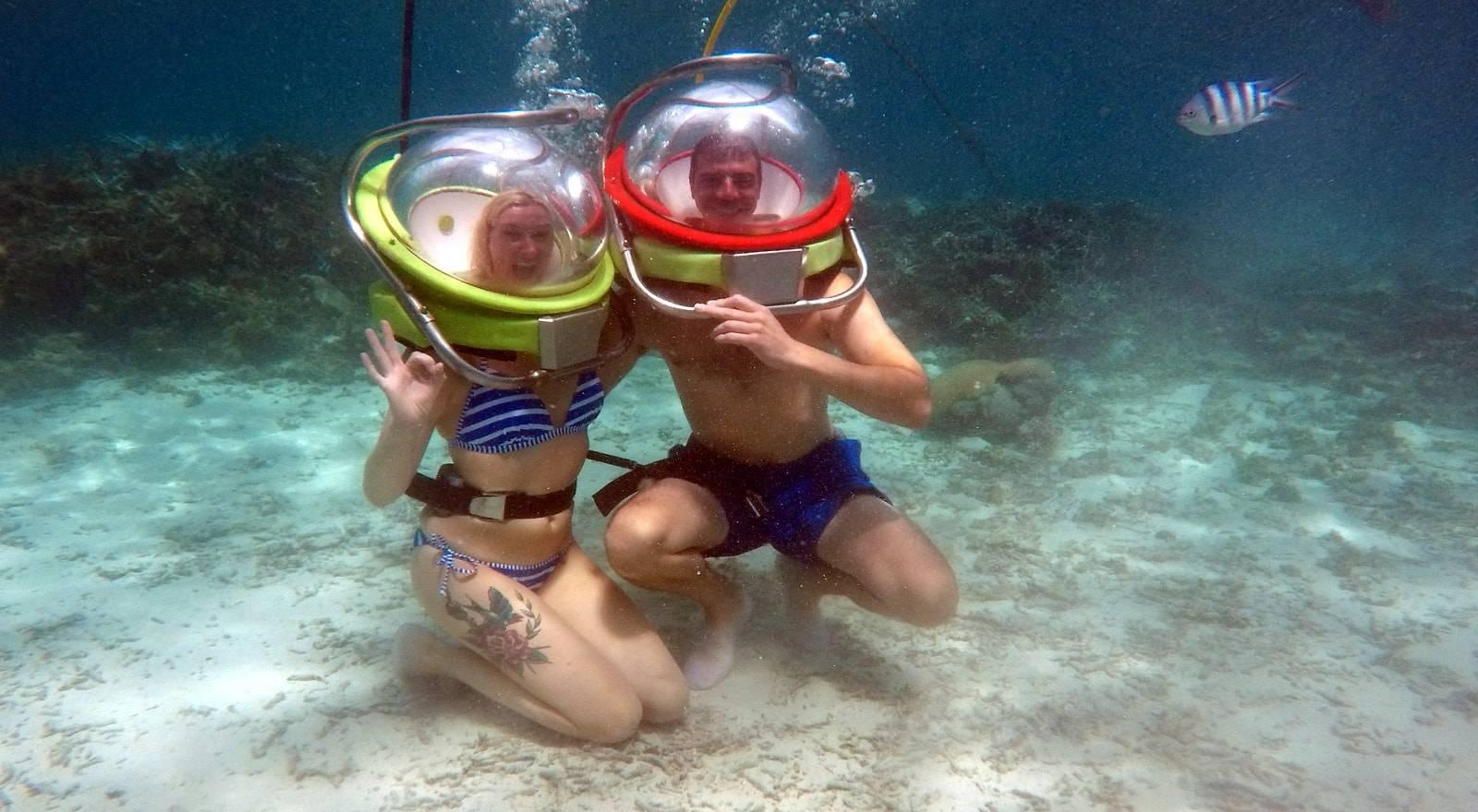Exclusive Undersea Walk