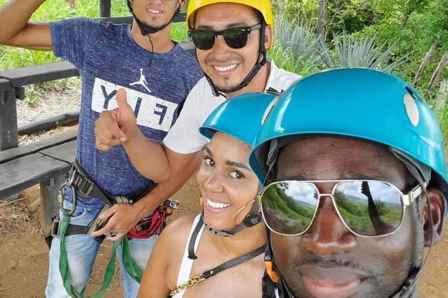 Black stallion ranch Private Zip Line & BBQ combo