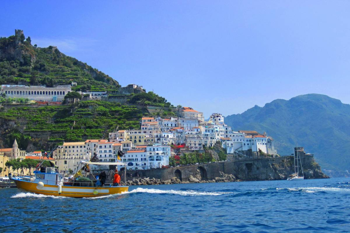 Travel etc Discover Positano & Amalfi by boat from Naples