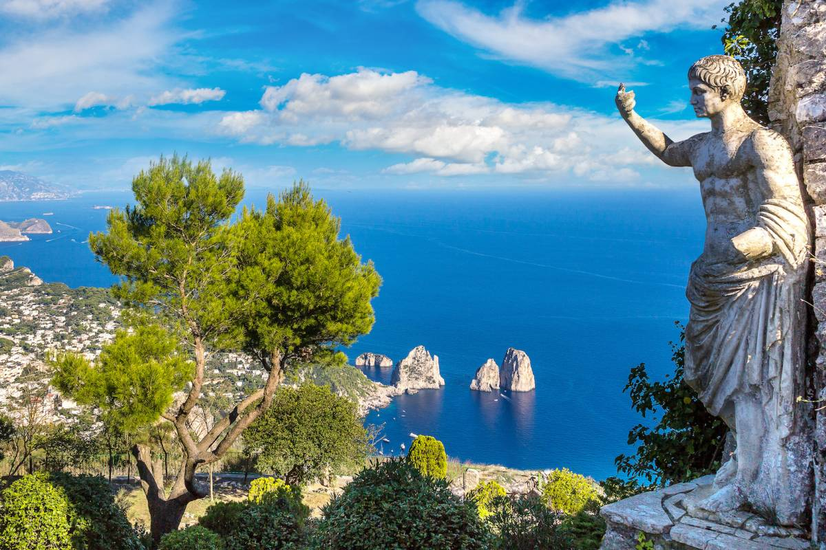 Travel etc Discover Capri from Pompeii/Castellammare