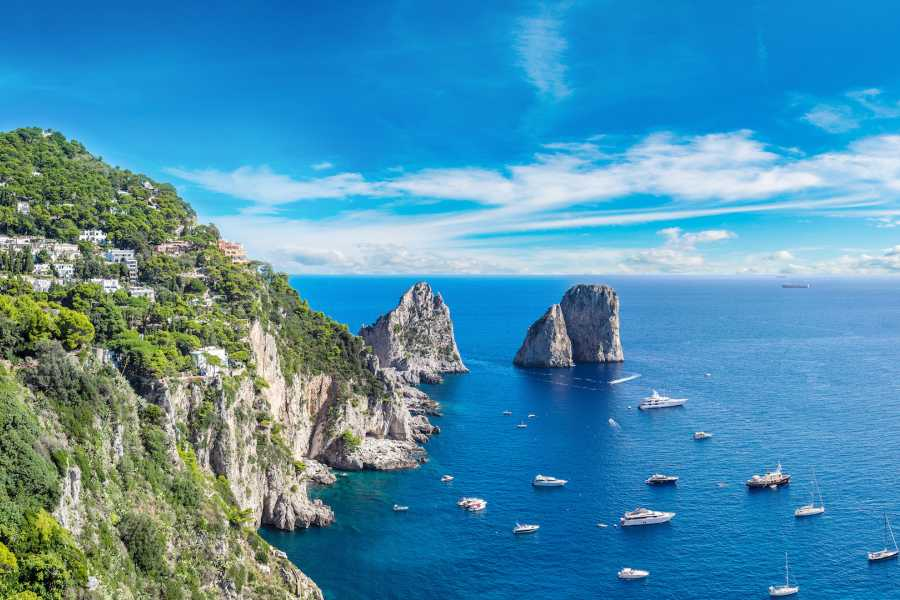 Travel etc Discover Capri from Herculaneum / T. del Greco