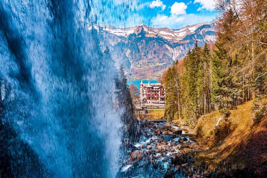 Interlaken Walking Tours Lake and Waterfall Private Tour