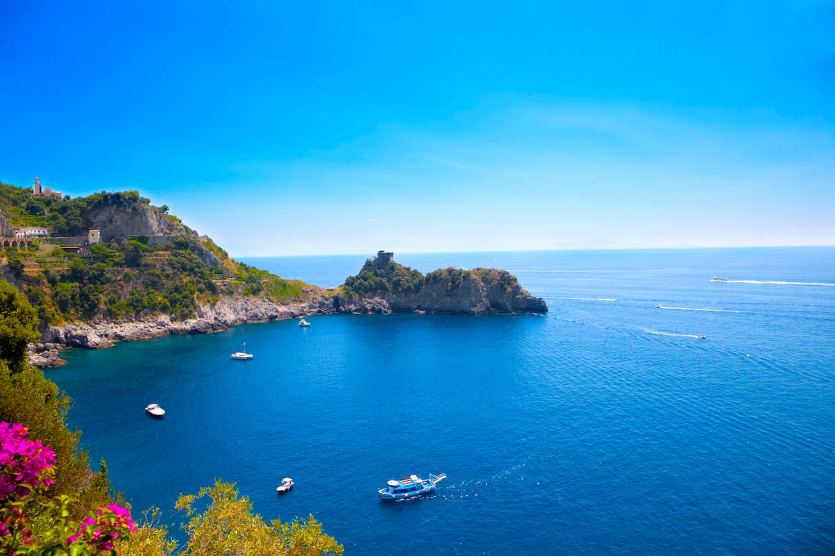 Travel etc Discover Positano & Amalfi by boat from Herculaneum