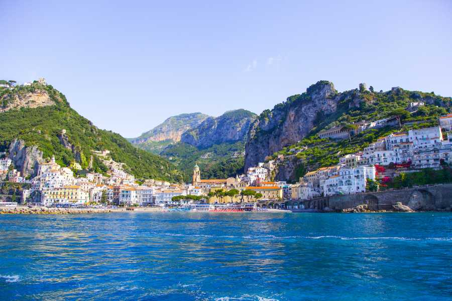 Travel etc Discover Positano & Amalfi by boat from Pompeii/Castellammare