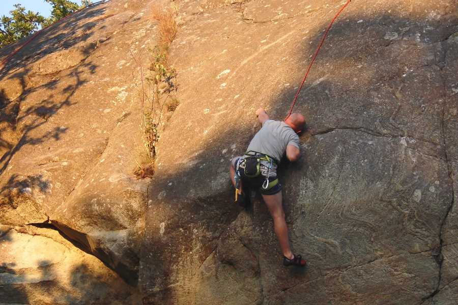 Outdoor West Climb: Top rope - an introduction