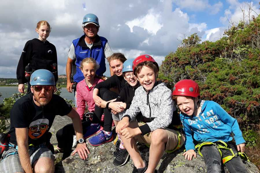Outdoor West Scrambling: BEACH DWELLER - a family adventure