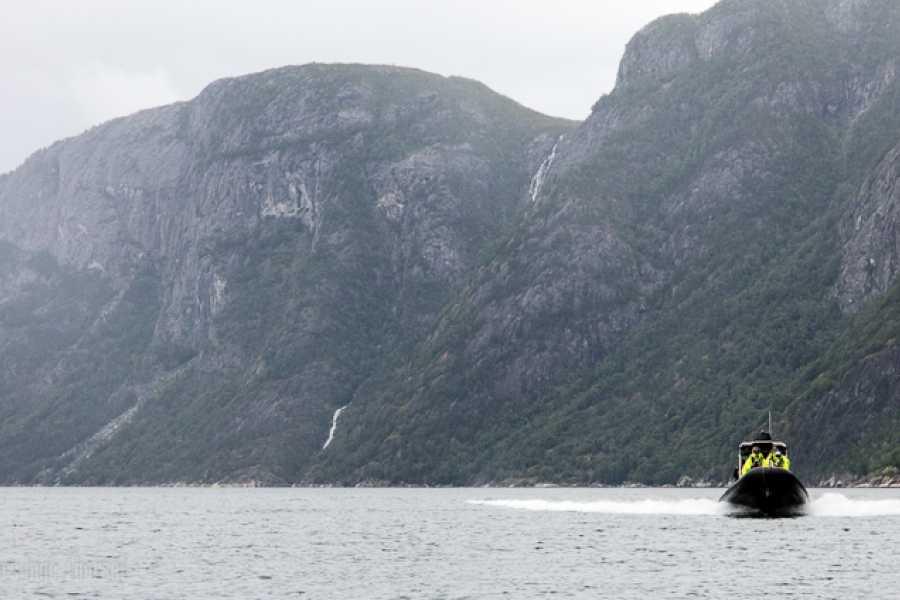 Hardanger Fjordsafari AS RIB tur 30 minutter
