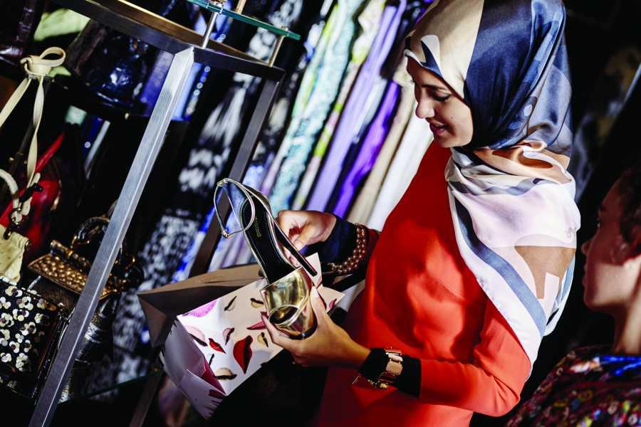Halal Tourism Britain Bicester Village Shopping Express