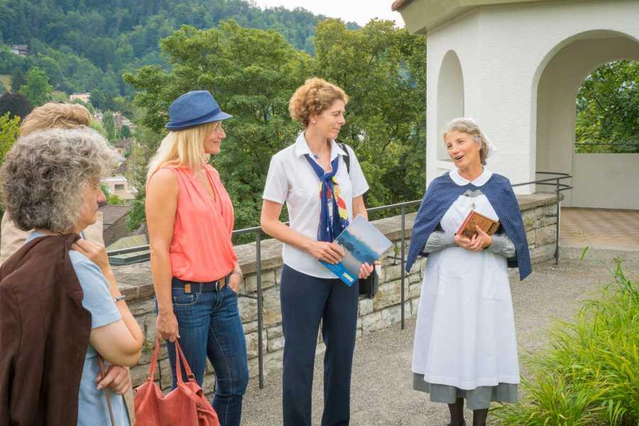 Interlaken Tourismus Stadtführung: Männerräume - Frauenträume (deutsch)