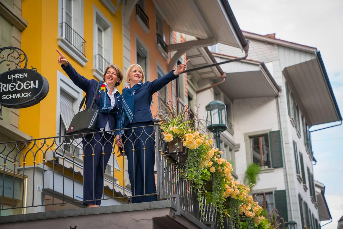 Interlaken Tourismus Stadtführung: HERRliches Thun (deutsch)