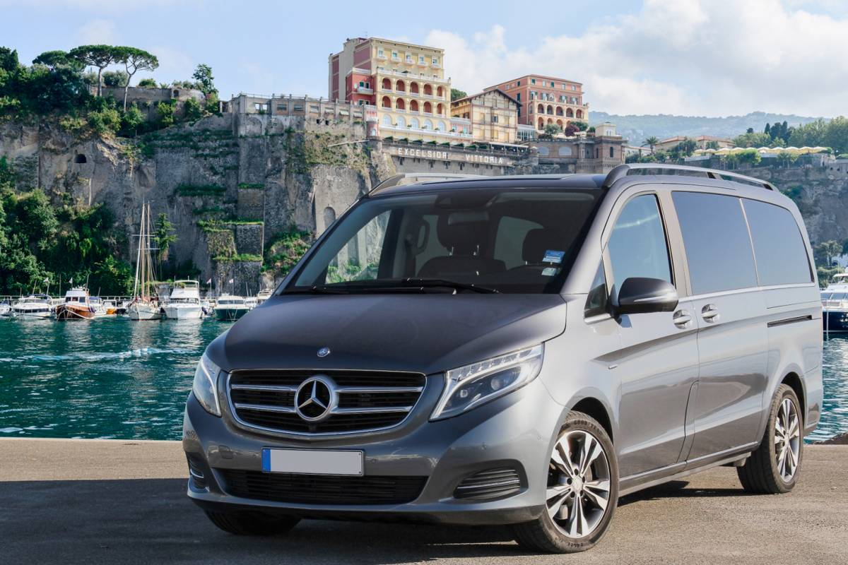Travel etc Transfer from Rome to Massa Lubrense and Viceversa
