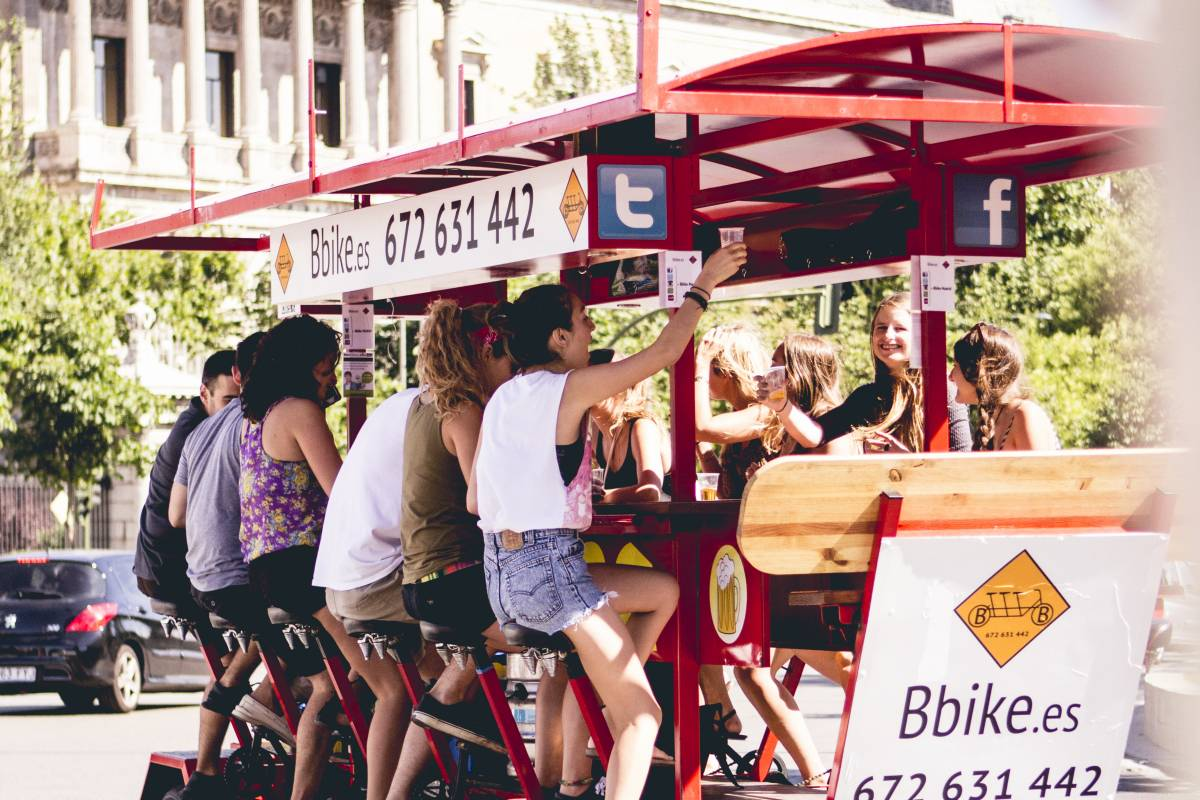 Urban Safari Tours Plaza en Beer Bike compartida