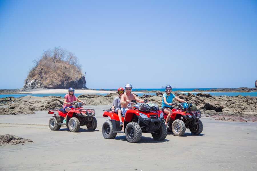 Tour Guanacaste Panga Fishing and Snorkeling ATV Tour