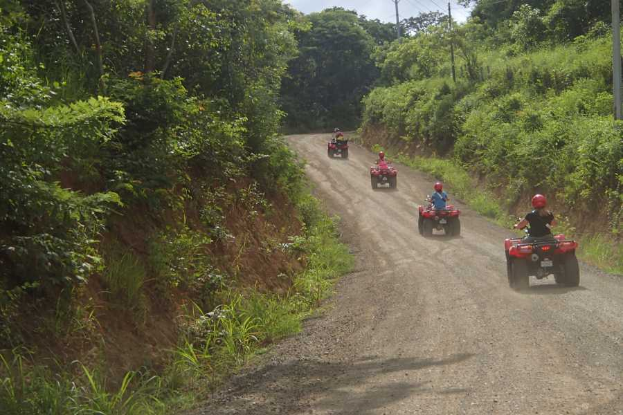 Tour Guanacaste Catamaran Cruise and ATV Combo