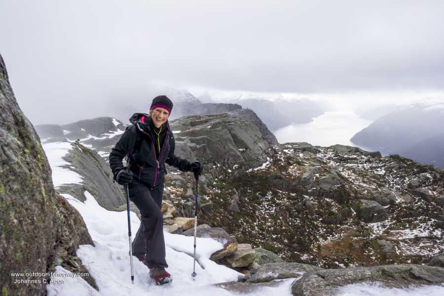 Outdoorlife Norway AS Preikestolen Winter Hike (custom)