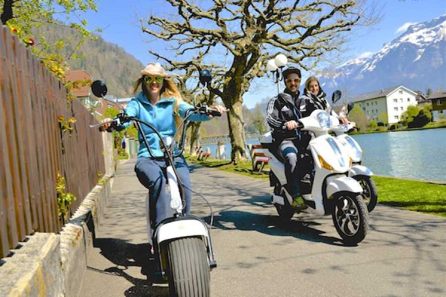 Swiss Paragliding & Adventure GmbH E-Vespino Interlaken / Jetboot Tour