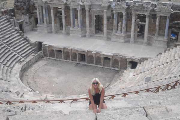 // Pamukkale Hierapolis Tour from Belek