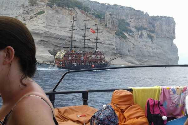 // Boat Trip Kemer from Belek