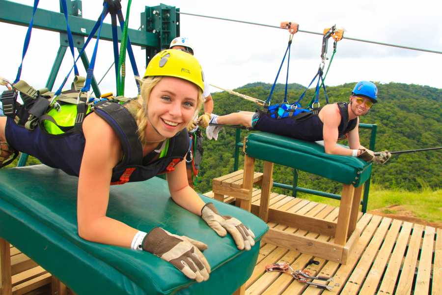 Tour Guanacaste Diamante Zip-Line Aerial Pass