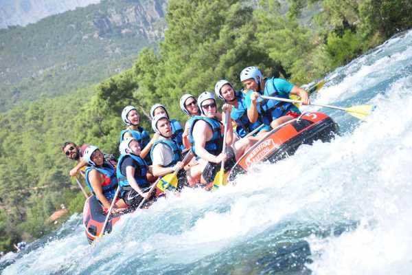 // White Water Rafting Lara