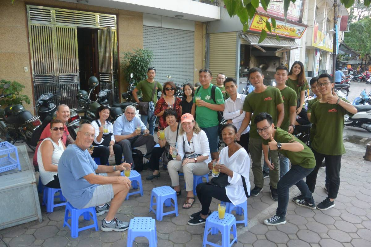 OCEAN TOURS HANOI CITY TOUR FULL DAY ON MOTORBIKE