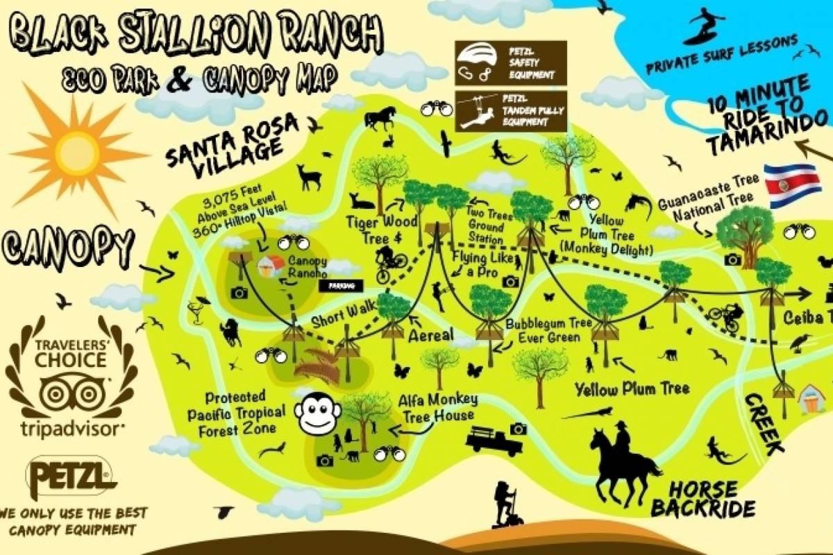 Black stallion ranch Black Stallion Canopy Tour