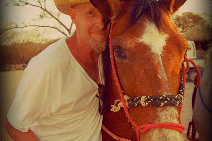 Black stallion ranch Sunset Horseback Tour