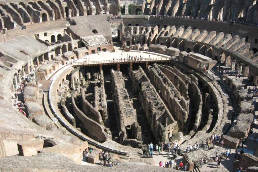Real Rome Tours VIP Colosseum Top Tiers & Ancient Rome Small Group Tour
