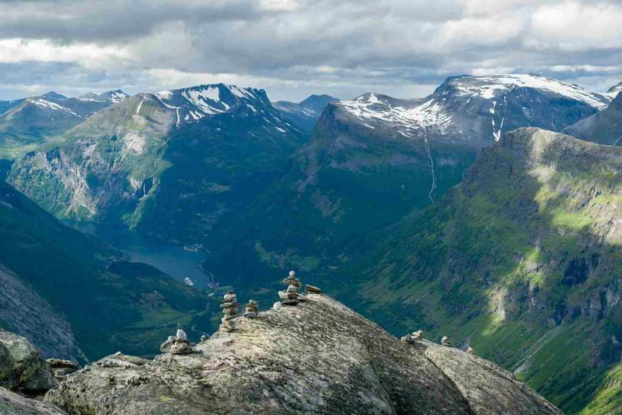 Norway Excursions Hellesylt to Geiranger - Private - The majestic tour
