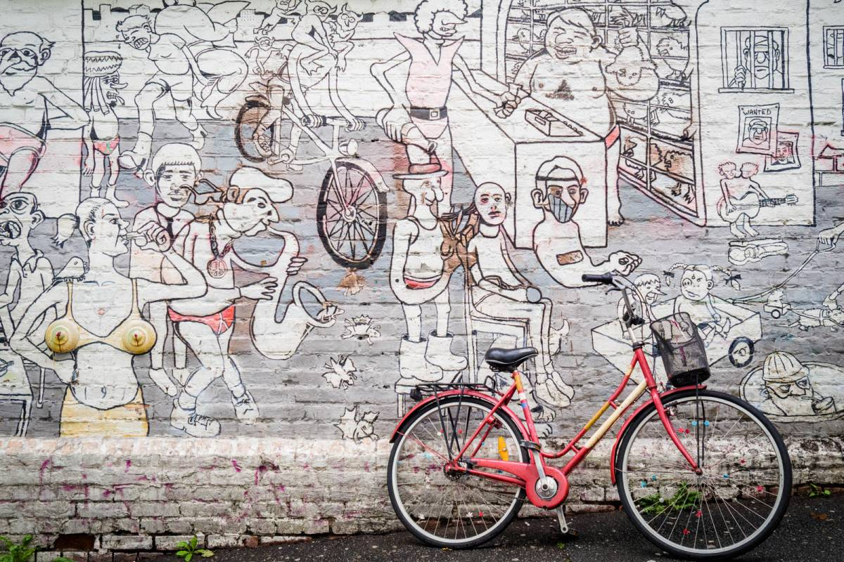viking biking City Walk: Hipster Oslo