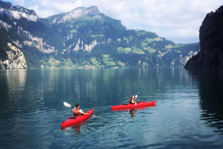URI ADVENTURE - AF Sport GmbH Kajak - Weg der Schweiz
